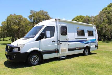 2007 Mercedes Sprinter Automatic Motorhome Tweed Heads South Tweed Heads Area Preview
