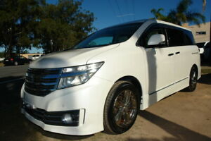 """2011 TE52 NISSAN ELGRAND """"HIGHWAY STAR"""" 2.5 LITRE 4CYL 7 SEATER WAGON. 360 SURROUND VIEW CAMERAS. LO Arundel Gold Coast City Preview"""