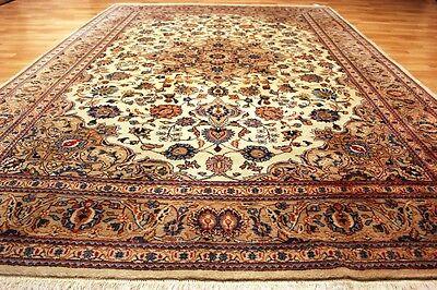 Königlicher Nain - Kaschmar Orient TEPPICH 305x207cm Silk Rug Carpet #0115