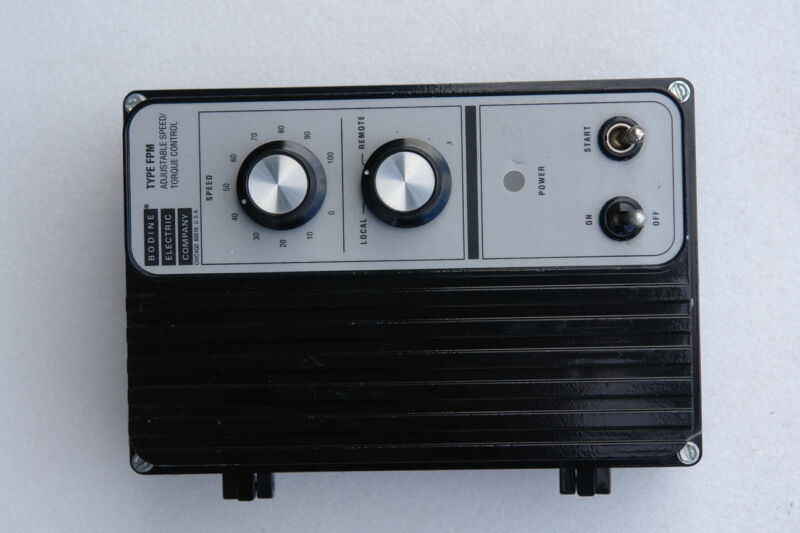 BODINE ELECTRIC 836 MOTOR CONTROL TYPE FPM