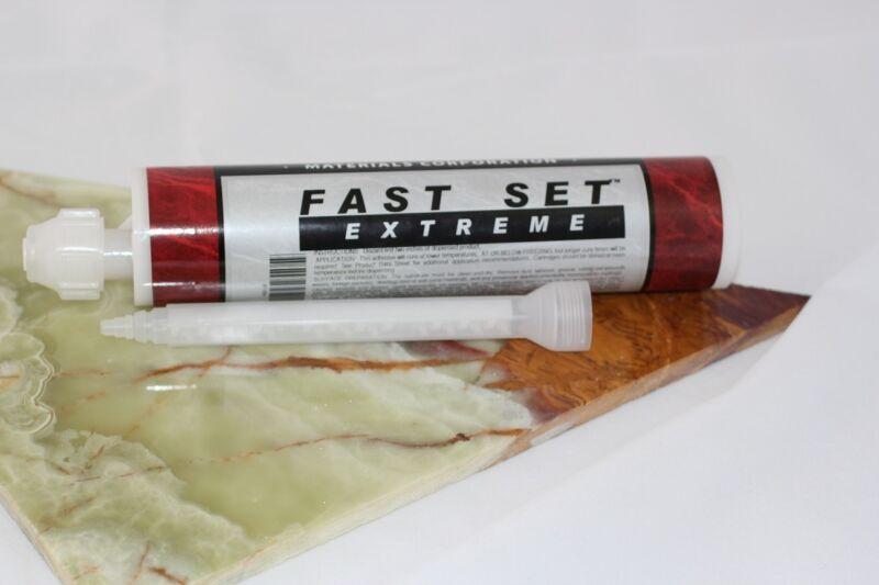 Bonstone Fast Set Extreme Epoxy glue for Granite, Marble, Limestone, & Stones
