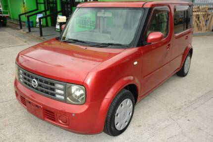 2004 BGZ11 NISSAN CUBE CUBIC 7 SEATER HATCH. 1.4L 4CYL. VERY ECON