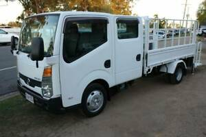 2008 F24 NISSAN ATLAS DUAL CAB 1.7 TONNE TRAY TRUCK WITH TAIL LIFT & G Arundel Gold Coast City Preview