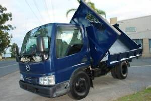 2003 MAZDA TITAN 3 WAY TIPPER WITH 3 TON PAYLOAD DIESEL ENGINE. Arundel Gold Coast City Preview