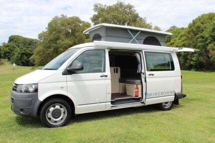 2010 Volkswagen Transporter Discoverer Twin Bed Automatic Tweed Heads South Tweed Heads Area Preview
