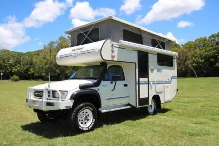 Toyota Hilux 4WD Turbo Diesel Safari Campervan Tweed Heads South Tweed Heads Area Preview