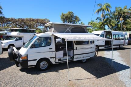Toyota Hiace Automatic Discoverer Campervan Tweed Heads South Tweed Heads Area Preview