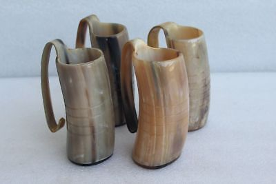 Game of Thrones Handmade drinking horn Mugs with handle for beer wine Halloween - Drinking Game Halloween