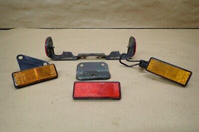 2005 <em>YAMAHA</em> XVS650 LICENSE PLATE TAG LIGHT HOLDER W REFLECTORS