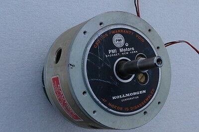 Kollmorgen Pmi Servo Disc Dc Motor With U6 Tachometer U9m4hau6 00-00917-068