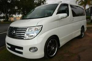 """2006 E51 NISSAN ELGRAND """"HIGHWAY STAR"""" 3.5 LITRE V6 WAGON. 5 SPEED AUT Arundel Gold Coast City Preview"""