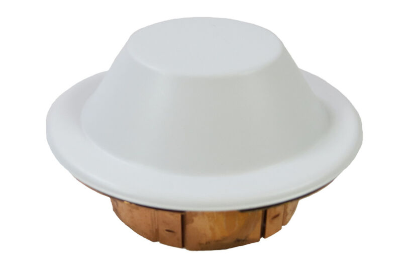 Reliable Domed White Cover Plate for CCP Fire Sprinklers