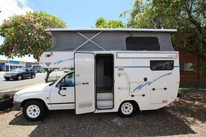 2001 Toyota Hilux Safari Pop Top Campervan Automatic Tweed Heads South Tweed Heads Area Preview