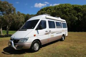 Wanted: Sunliner Rialta Mercedes Benz Sprinter Motorhome Low Kilometers