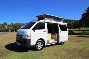 2008 Toyota Hiace Discoverer Campervan Very Low Kilometers