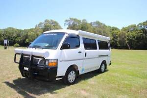 Toyota Hiace Twin Bed Campervan Automatic Only 83,100km