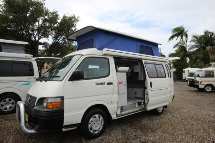 Toyota Hiace Trakka Campervan Automatic Tweed Heads South Tweed Heads Area Preview