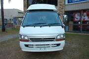 1998 LH172 TOYOTA HIACE DX POPTOP WITH SHOWER CAMPERVAN. 3 LITRE Arundel Gold Coast City Preview