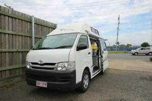 2009 Toyota Hiace Twin Bed Campervan Sleeps 3