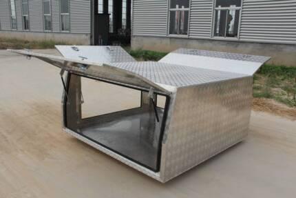 Ute Canopy Aluminum 1800x1800x860 (Free Ladder Racks)Heavy Duty