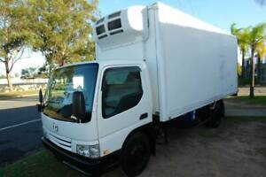 2001 WH69H MAZDA TITAN 3.1 TON FREEZER TRUCK WITH TAIL GATE. Arundel Gold Coast City Preview