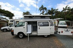 2001 Toyota Hiace Twin Bed Campervan Automatic Tweed Heads South Tweed Heads Area Preview