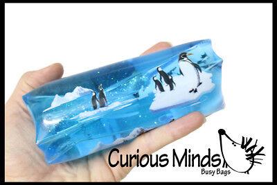 Jumbo Penguin Water Snake Wiggler - Slippery Tube Toy Novelty Trick - Water Wiggler Toy