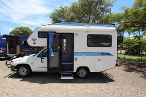 1998 Toyota Hilux Safari Motorhome Automatic Shower and Toilet Tweed Heads South Tweed Heads Area Preview