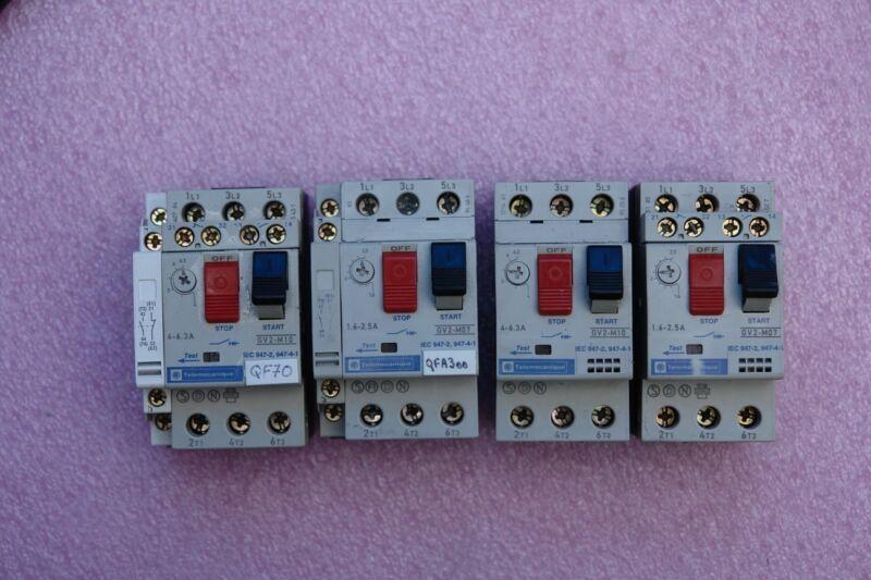 Telemecanique GV2-M10 Contactors ( Lot of 4 )
