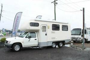 2002 Toyota Hilux Matilda Crystal 3 Motorhome Automatic Tweed Heads South Tweed Heads Area Preview