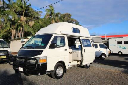 2001 Toyota Hiace High Roof Automatic Campervan Tweed Heads South Tweed Heads Area Preview