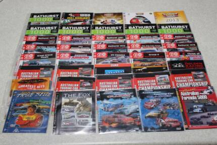 V8 Supercars ATCC Bathurst Holden Ford Indianapolis 500 DVD lot