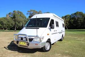 2004 Mercedes Sprinter Motorhome Automatic Turbo Diesel