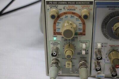 Tektronix Pg502 10hz-250mhz Pulse Generator
