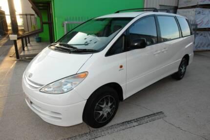 2001 Toyota Tarago 8 Seater Wagon. 2.4Ltr 4Cly Petrol.