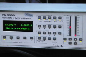 VOLTECH-PM-3000-PM3000-UNIVERSAL-POWER-ANALYZER-WORKING
