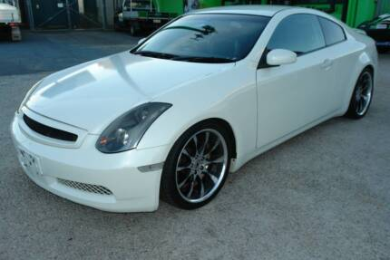 2003 CPV35 NISSAN SKYLINE 350GT COUPE. 3.5L V6 ENGINE. 5 SPEED AU Arundel Gold Coast City Preview