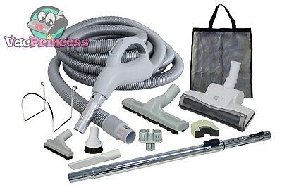 Low Voltage Central Vacuum Kit w/Air Driven Power Nozzle & Tools Beam Eureka MD (Air Driven Power Nozzle)