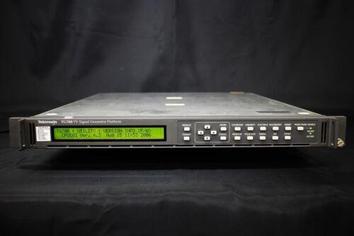 Tektronix Tg700fp(dvg7/hdvg7/agl7/bg7) Multiformat Analog And Digital Video Gene