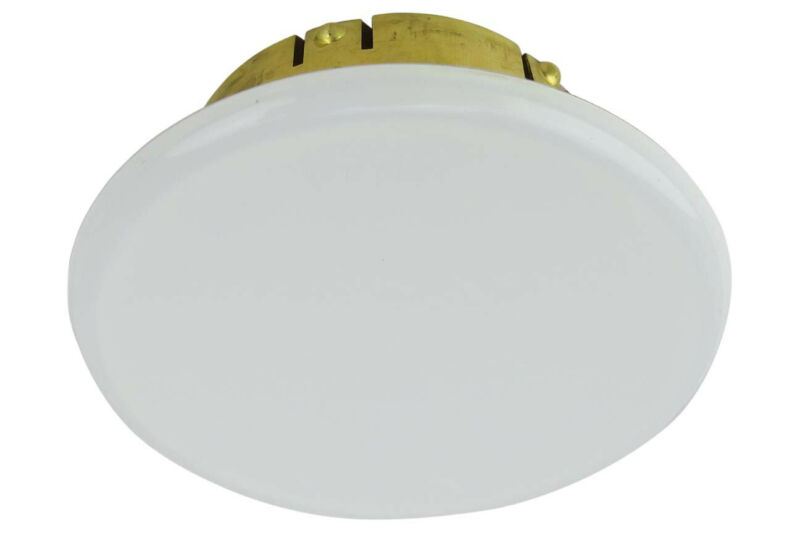 Viking White Cover Plate for Mirage Fire Sprinklers (Standard Size)