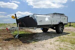 Bluetongue Overland XR Rear Fold Camper Trailer Campbellfield Hume Area Preview