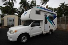 Toyota Hilux Motorhome Automatic Low Kilometres Shower and Toliet Tweed Heads South Tweed Heads Area Preview