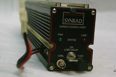 Synrad H48-1-28-4752 Laser Tested 15.2w Working Free Ship