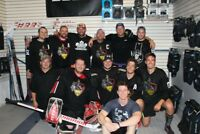 Looking for ball hockey players for men's D4 team