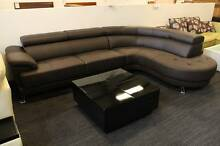 【Brand New】 Full Leather Corner Sofa Lounge Suite Chaise Set SF21 Nunawading Whitehorse Area Preview