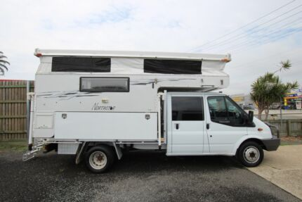 Northstar Toilet and Shower and 2008 Ford Transit 6 Seater