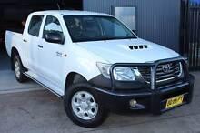 2012 TOYOTA HILUX SR AUTO KUN26R TURBO DIESEL (4X4) Holroyd Parramatta Area Preview