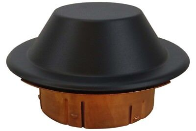 Reliable Domed Black Cover Plate For Ccp Fire Sprinklers
