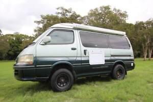 Toyota Hiace 3.0l Turbo Diesel 4WD Automatic Campervan