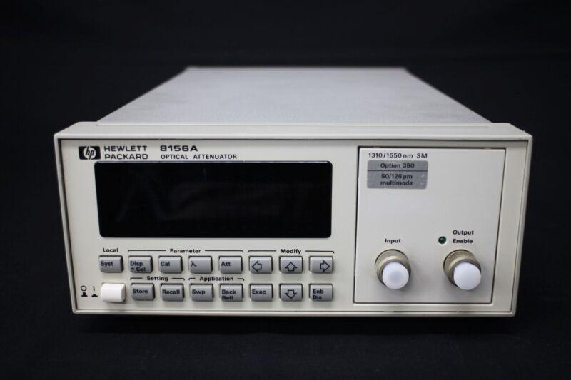 HP 8156A0/350 1250-1650nm 60dB Optical Attenuator